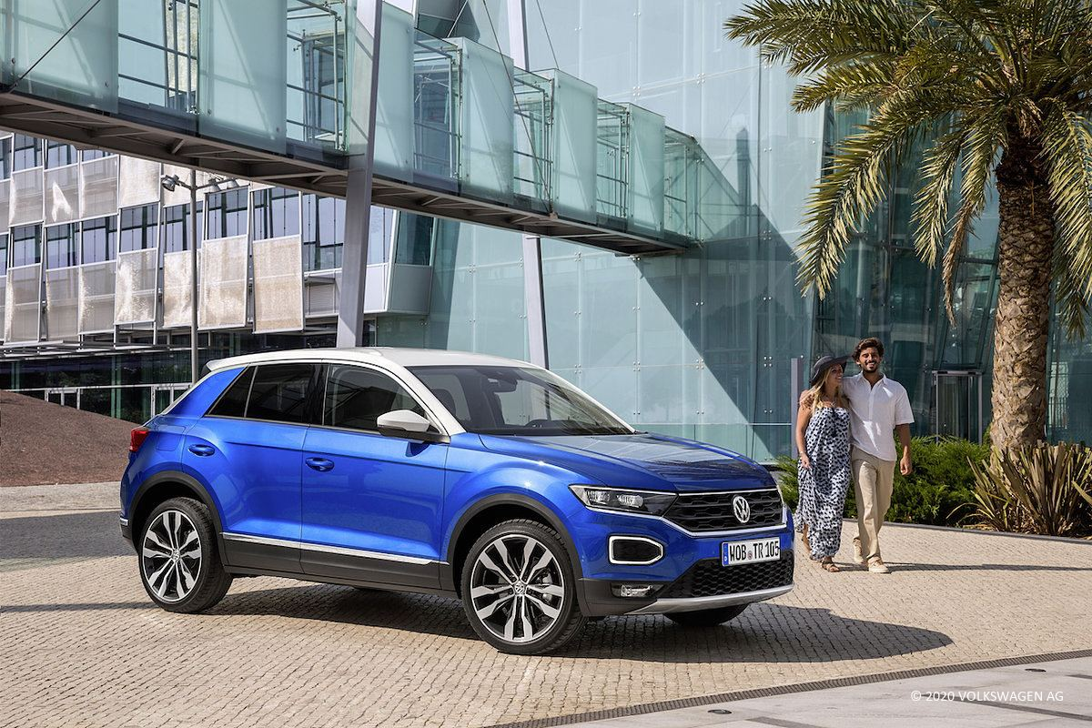 VW T-Roc 2.0 TSI 4Motion DSG (2020)